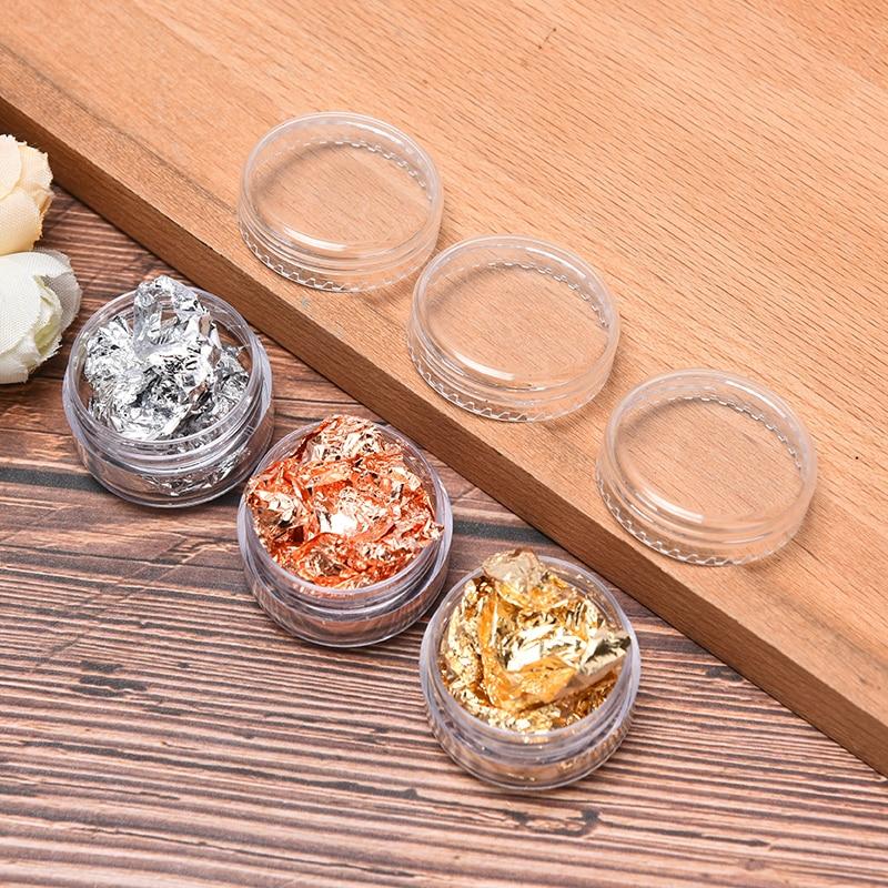 Resin Filling Glitter DIY Jewelry Epoxy Mold Crafts Tool Nail Sticker Decoration