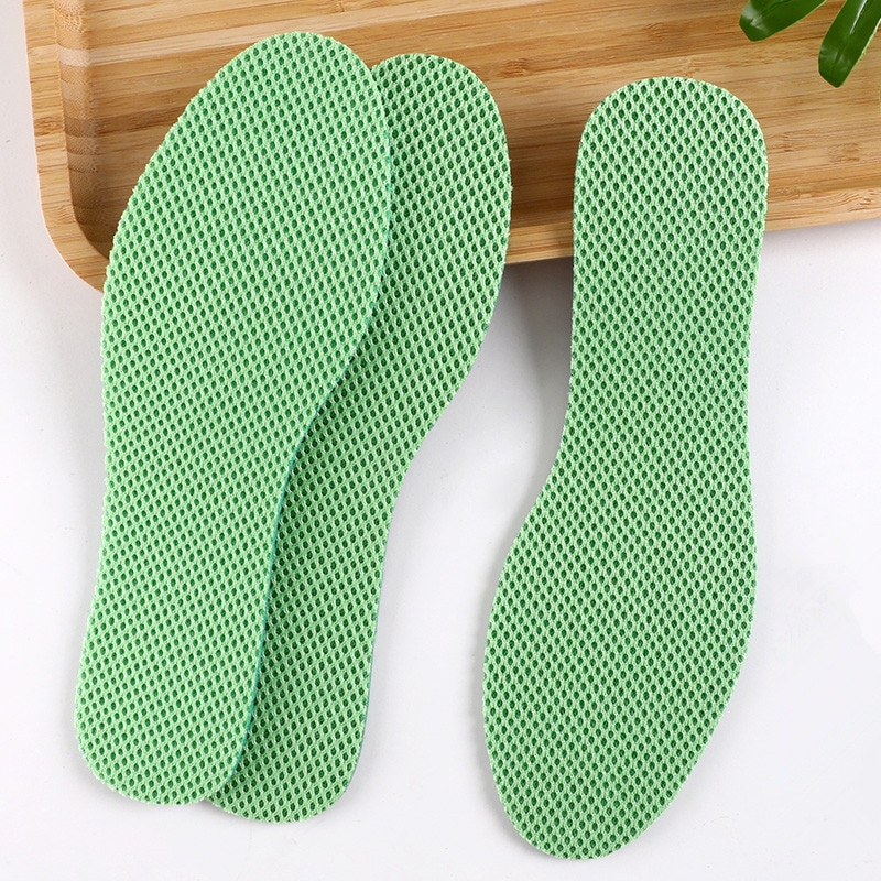 5 pairs health deodorant insoles light weight shoes pad absorb sweat breathable mesh cloth shoe inserts men women Health Mint Deodorant Insoles Breathable Light Weight Sport Shoes Pad Big Mesh Cloth Absorb-Sweat Insert Soles for Unisex