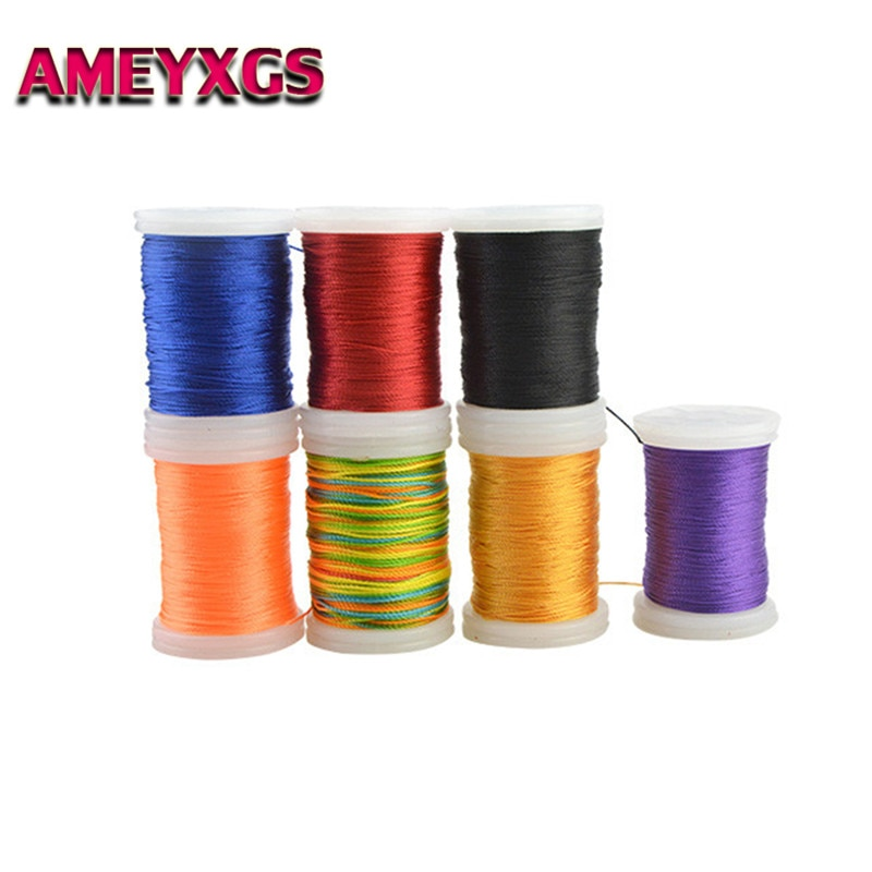 2pcs Fiber Bowstring Protector Serving Thread Spool Fiber Line Cord For Bow Strings Outdoor Hunting Shooting Archery Accessories
