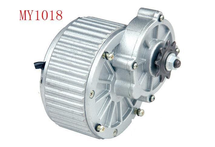 المغناطيس الدائم DC نحى والعتاد المحرك MY1018-450W/24V /36v دراجة كهربائية