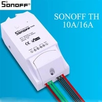Sonoff TH10 TH16 AM2301 Temperature Humidity Remote Controller Sensor Wifi Intelligent Controller Time Switch Smart Home Switch