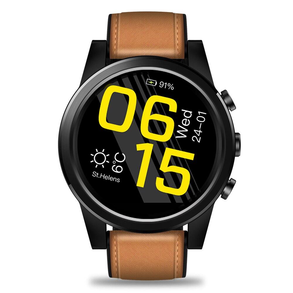 Reloj inteligente 2020 THOR 4 PRO 4G 1,6 pulgadas Pantalla de Cristal GPS/GLONASS Quad Core 16GB 600mAh correas de cuero hombres pulsera reloj