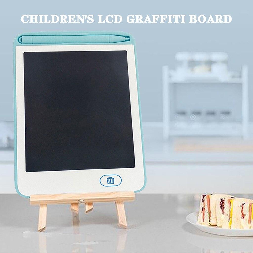Tablero de dibujo electrónico de 6,5 pulgadas juguete de grafiti para escritura a mano de chico tablero de gráficos de mensaje tablero de escritura de chico regalos para niños
