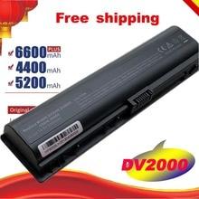Batterie dordinateur portable pour HP Pavilion DV2000 DV2100 DV2200 DV2700 DV2800 DV2900 DV6000 DV6300 DV6700 HSTNN-DB42 HSTNN-LB4 livraison gratuite