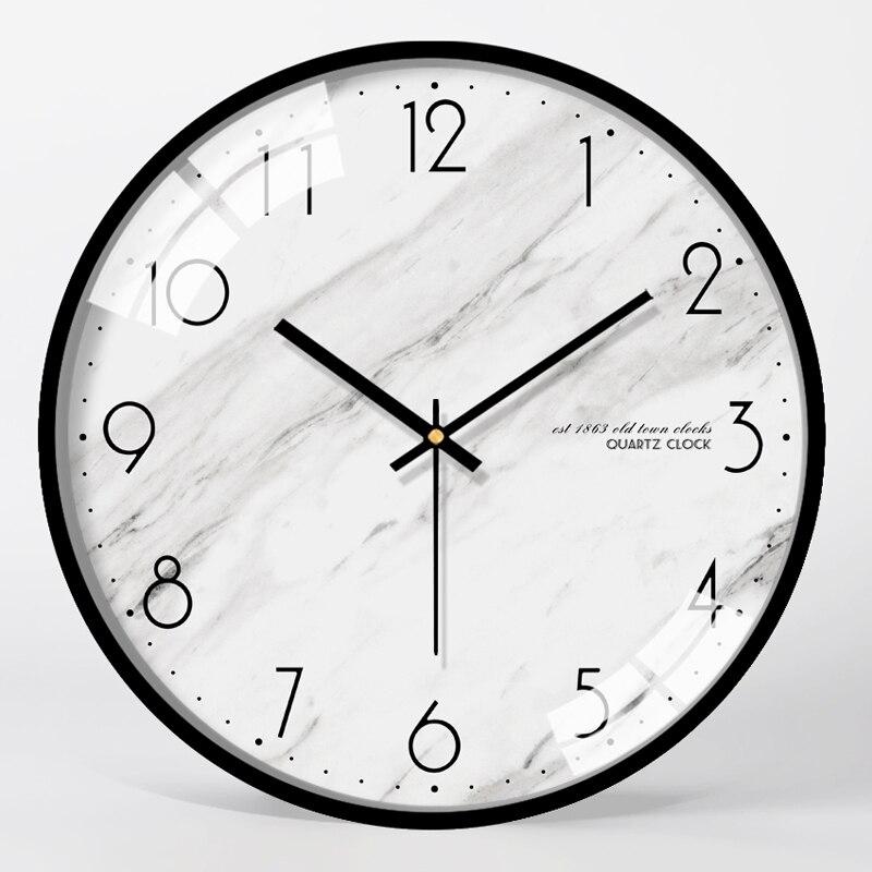 Большие настенные часы современный дизайн часы настенные часы гостиная спальня бесшумные кухонные часы механизм Zegar Scienny подарок FZ222