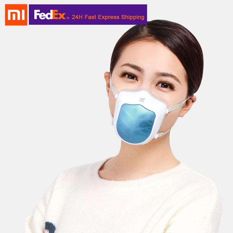 Nouveau Xiaomi Mijia Q5S couverture de visage électrique Silicone Anti-brume stérilisation alimentation en Air filtre Anti-poussière bande élastique Portable