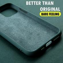 Original Soft Liquid Silicone Case for iPhone 11 Pro Max Phone Casing for iPhone 8 7 6 6S Plus 7Plus