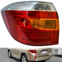 for toyota highlander rear tail light 09 11 12 13 14 car tail light cover assembly reversing left and right turn signal