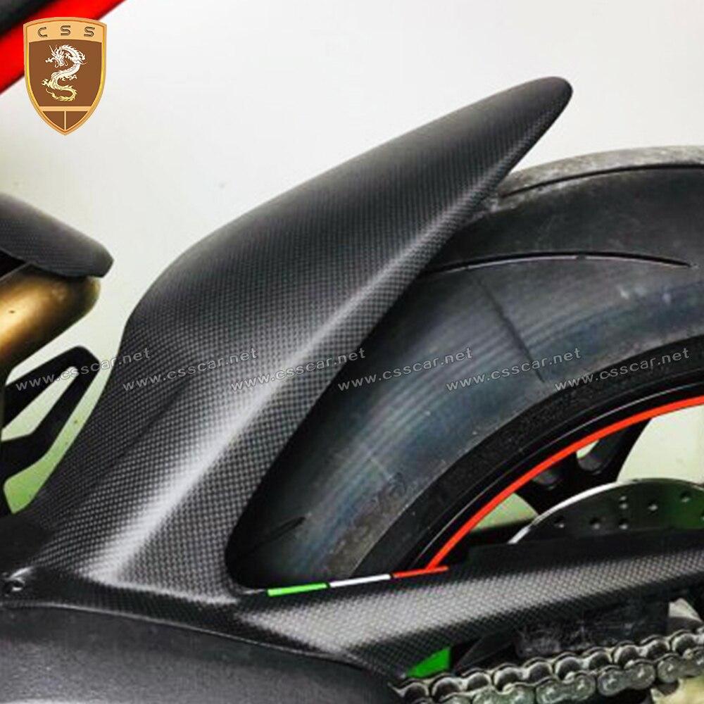 واقيات الطين الخلفية لـ Ducati Panigale V4 و Streetfighter V4 ، ألياف الكربون ، Hugger ، عادي ولامع