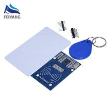 50PCS SAMIORE ROBOTER RFID modul RC522 Kits 13,56 Mhz 6cm Mit Tags SPI Schreiben & Lesen