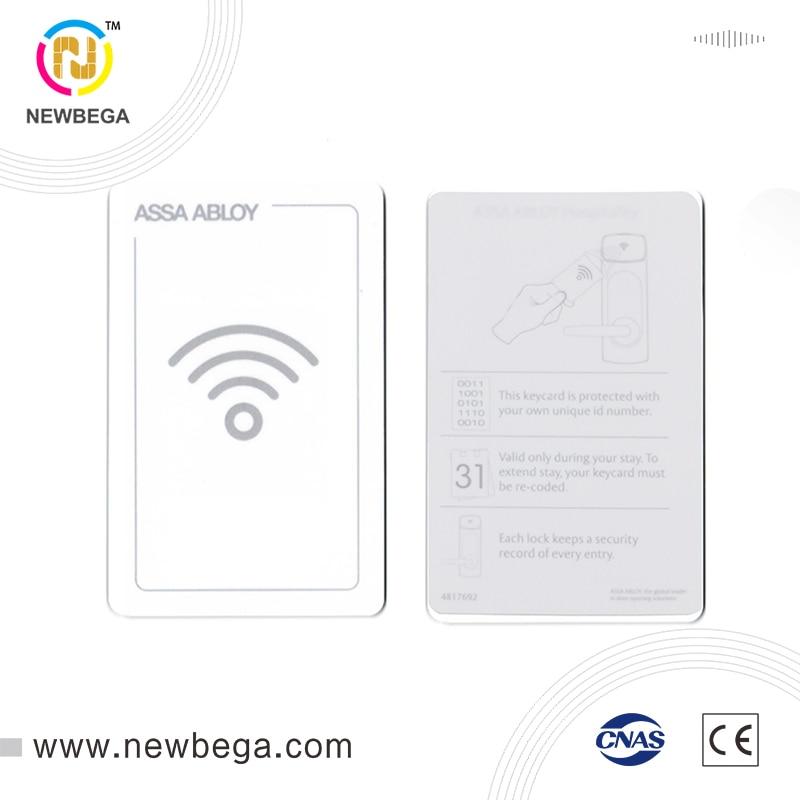 200 Uds Real 13,56 MHz RFID NFC tarjeta ultraligera EV1-4byte UID Hotel tarjeta apartamento residencial