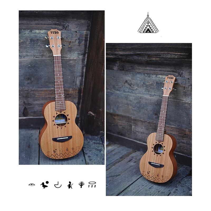 Soprano Ukulele Solid Mahogany Music Set Barato 4 String Small Guitar 23 Inch Profesional Perform Guitarra Entertainment ZZ50YL enlarge