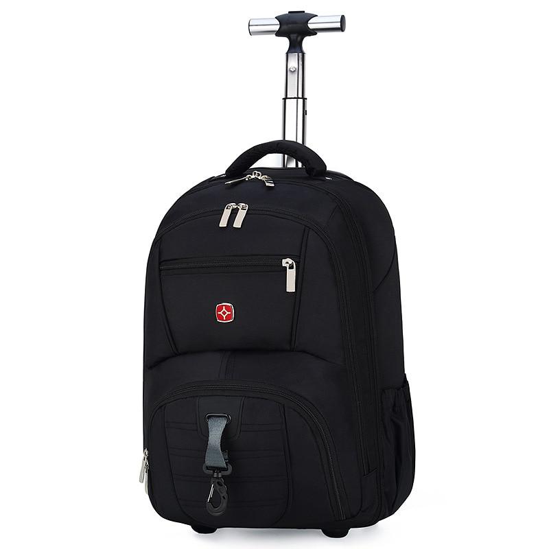 Мужская сумка на колесиках, школьный рюкзак на колесиках, дорожная сумка на колесиках, школьная сумка на колесиках