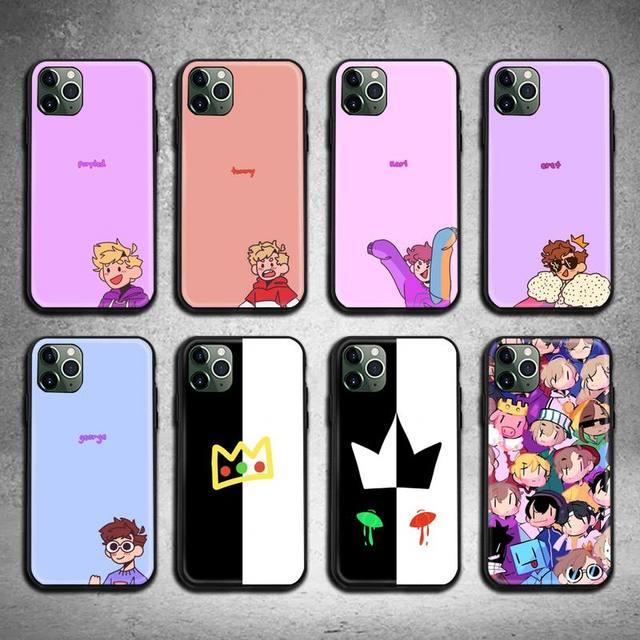Горячие Dream Smp чехол для телефона с мотивами игр для iphone 12 11 Pro Max Мини XS Max 8, 7, 6, 6S Plus, X, 5S SE 2020 XR крышка