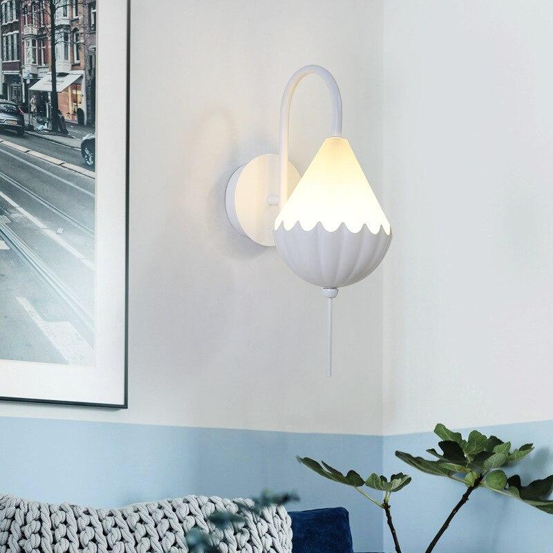Lámparas para loft, lámpara de cristal para dormitorio, pasillo, pasillo, lámpara de pared