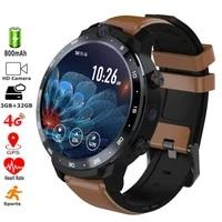 4g smart watch 32gb rom mt6739 quadcore 900mah battery 900mah power bank as gift 5mp 8mp dual cameras gps men sports smartwatch