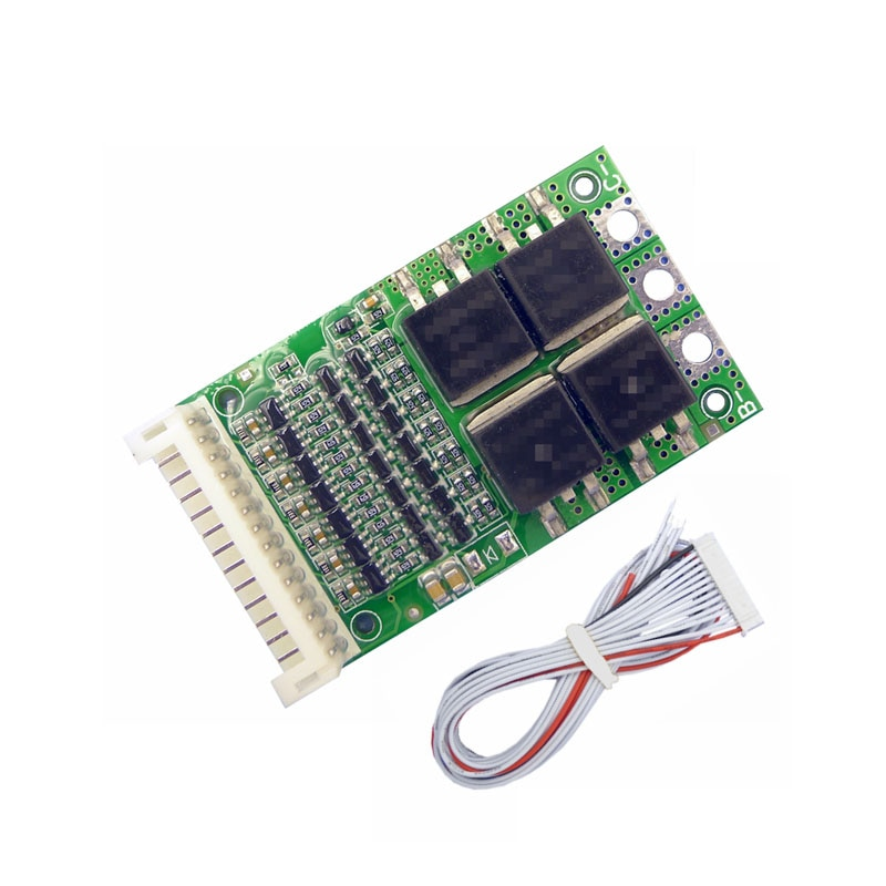 BMS 6S 7S 8S 9S 10S 11S 12S 13S 4,2 V 25A Регулируемый BMS литий-ионный аккумулятор 18650 модуль защиты цепи PCB PCM