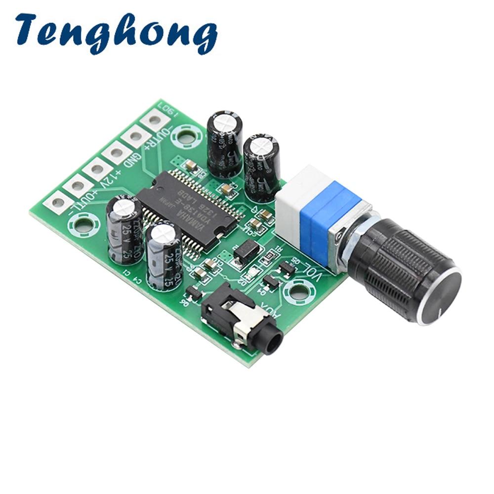 Tenghong YDA138-E HD Digital Power Amplifier Board 10W*2 12V Class D Dual Channel Stereo Audio Sound Amplificador Speaker DIY