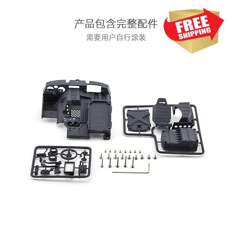 Controle de rádio rc peças axial capra 1.9 utb mad interior opção conjunto atualizar peças