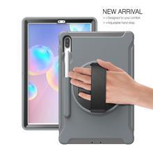 "Case Voor Samsung Galaxy Tab S6 10.5 ""T860 2019 Tablet Case Shockproof Armor Heavy Duty Hard Case Voor Samsung tab T860 Stand Case"