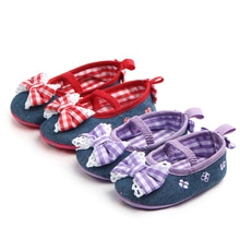 2020 The New Bow Baby Shoes Soft Sole Baby Girl Shoes Casual  Baby Girl Shoes