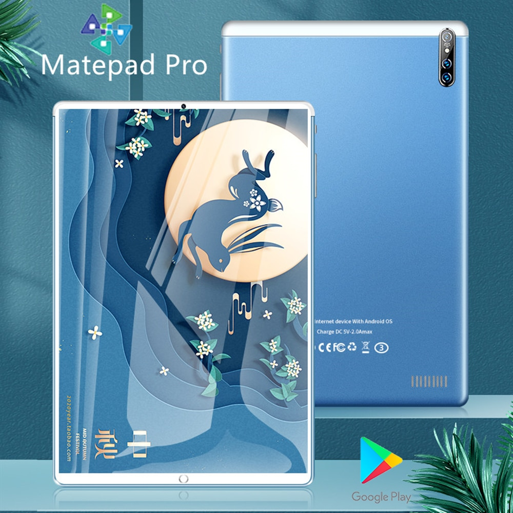 Matepad Pro tablette android 10.1 inch DRAW TABLET 6GB+128GB Gaming laptop 10 core tablet