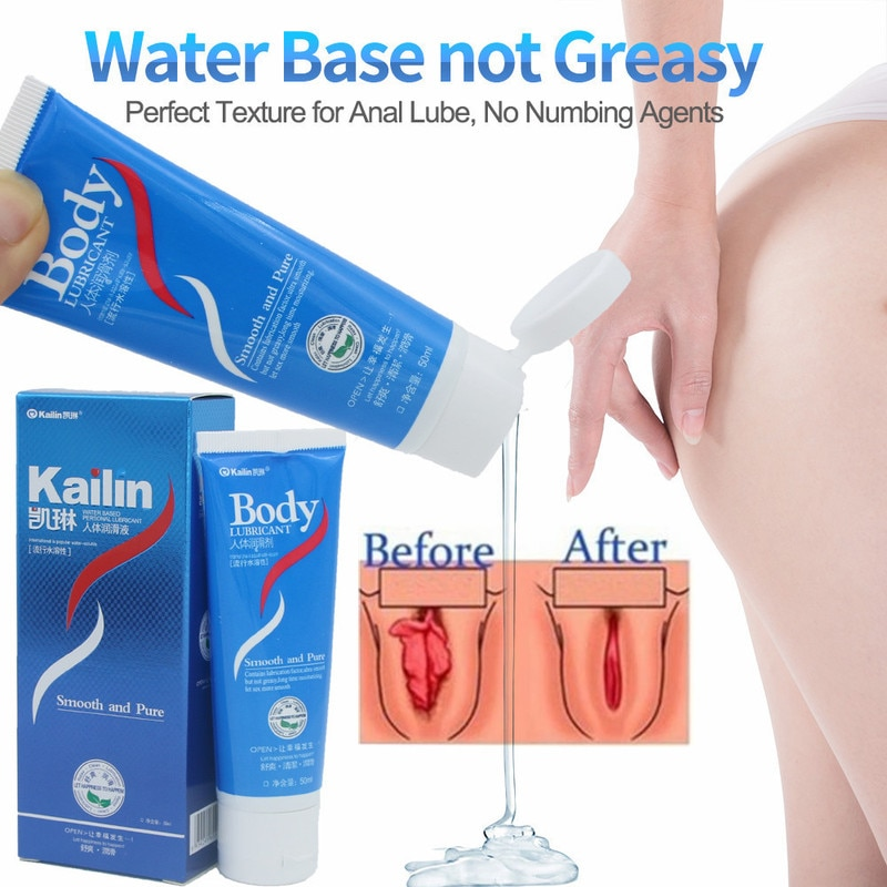 50ML Sex Lubricants Water-based Transprant Human Body Sex Oil Vaginal Anal Gel Adults Sex Product Ho