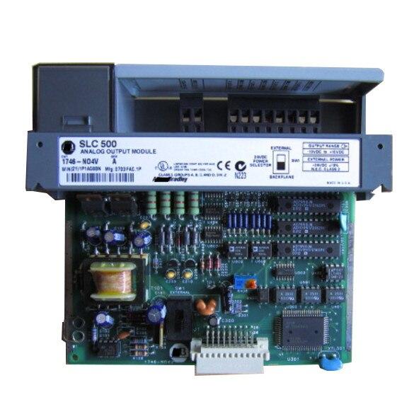 جديد الأصلي 1746-NO4V PLC 55mA 4 عدد من المخرجات التناظرية وحدات الإخراج