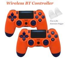 Manette à distance sans fil fil/Bluetooth pour contrôleur PS4 pour Playstation PS 4 Joystick adapté pour Consoles PlayStation Dualshock 4