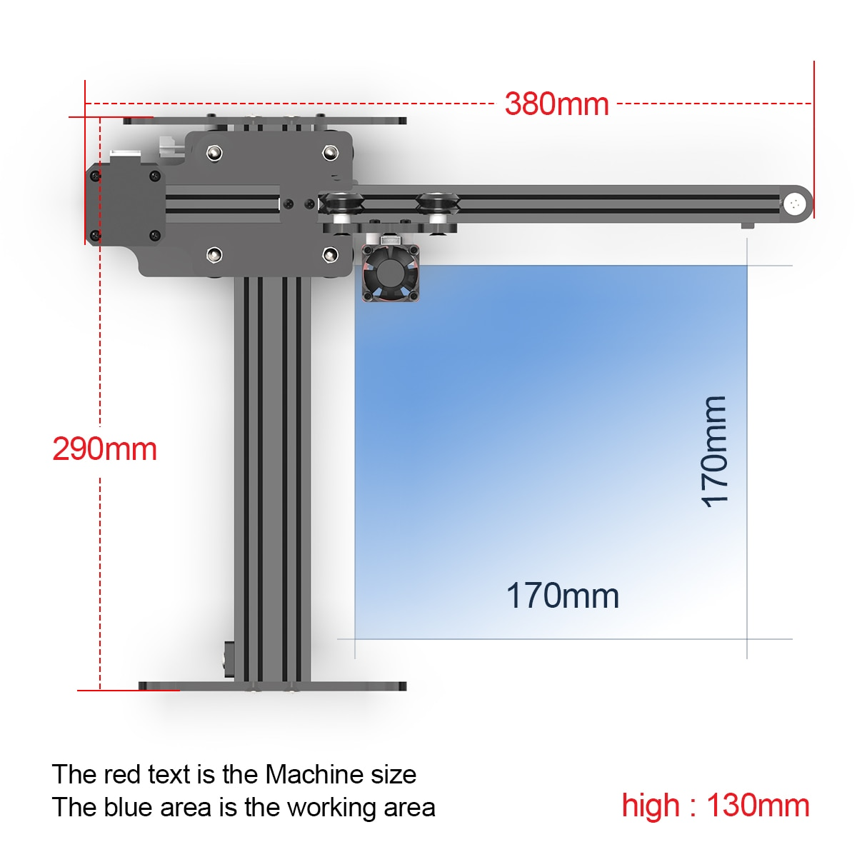 NEJE Master 2S 30W Desktop CNC Laser Engraver 170X170mm Wireless Laser Printer Engraving Cutting Machine App Control Lightburn enlarge