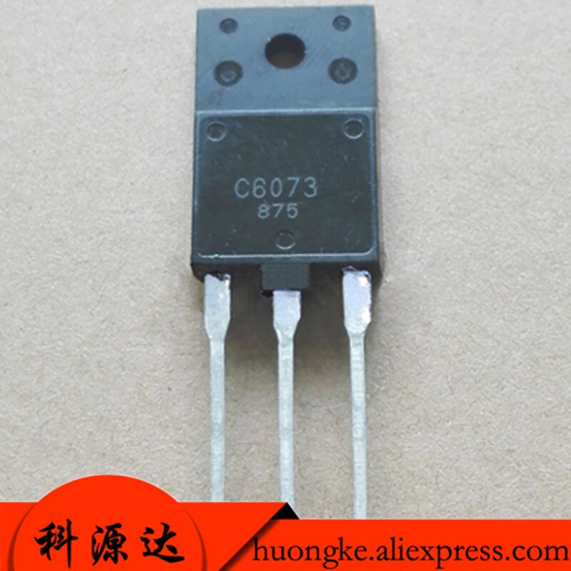 5pcs/lot 2SC6073 Mark C6073 TO-3PF Power transistor  electronics ic parts