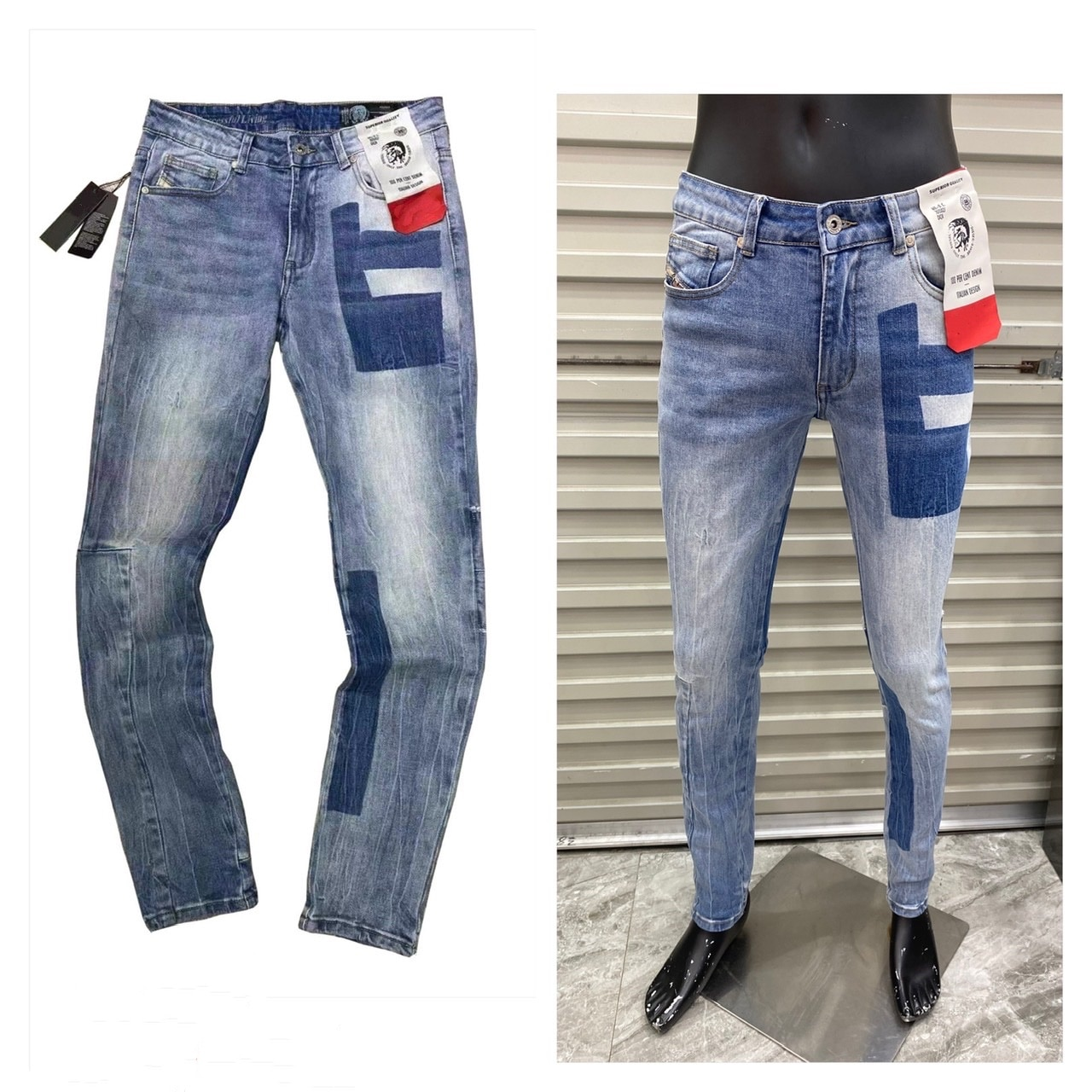 20201 New Casual Style Breathable Top Quality Fashion Men Pants Warm Jeans Straight Leisure Mid Waist Men Trousers K959
