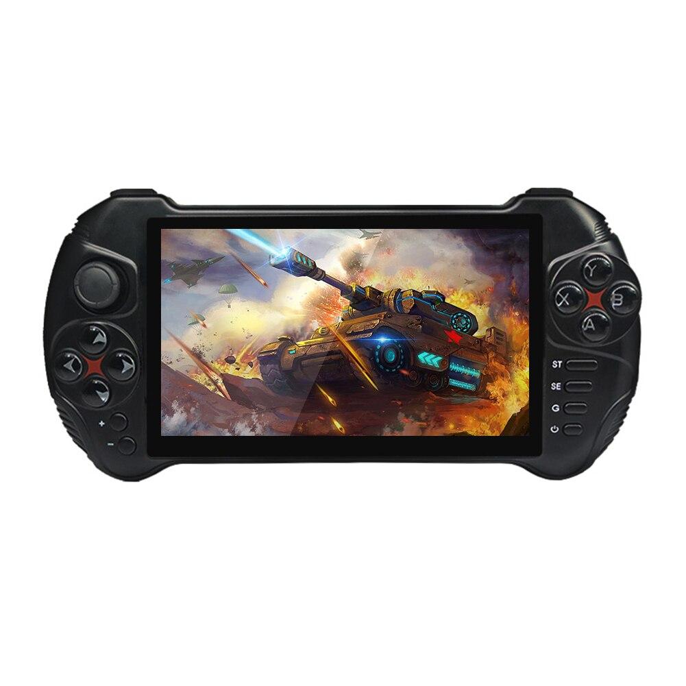 Consola de juegos portátil X15, suficiente y duradera, Android 7,0, Quad-Core, reproductor de vídeo Gamepad