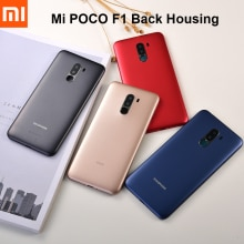 Xiaomi POCOPHONE F1 Plastic Back Battery Cover Rear Door Housing Panel Case For Pocophone Poco F1 Re