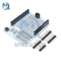 prototype expansion board r3 development breadboard pcb protoshield module with pins one diy kit 2 54 mm for arduino