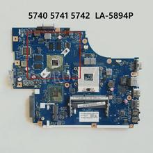 Hohe qualität Für ACER Aspire 5742G 5740 5741 Laptop motherboard PEW71 LA-5894P 100% arbeits gut ok