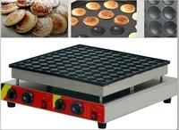 100 pcs commercial use 110v 220v dutch pancakes maker non stick poffertjes maker machine mini waffle baker