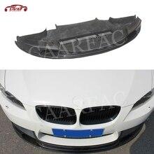 Aileron avant de lèvre de fibre de carbone pour BMW série 3 E90 E92 E93 M3 2009 2010 2011 2012 GT-SV