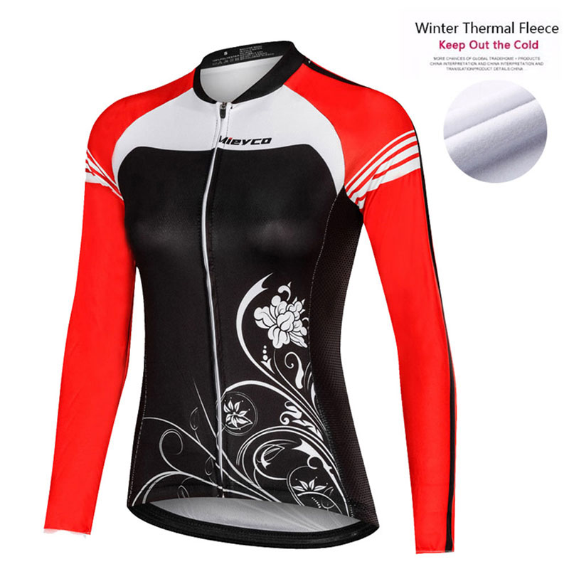 Jerseys para ciclismo de manga larga para mujer, chaqueta para correr al...