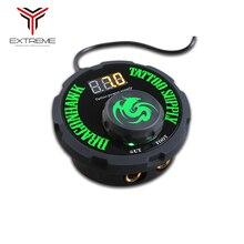 Nouvelle conception tatouage alimentation numérique LCD Lithium batterie chargeur tatouage alimentation
