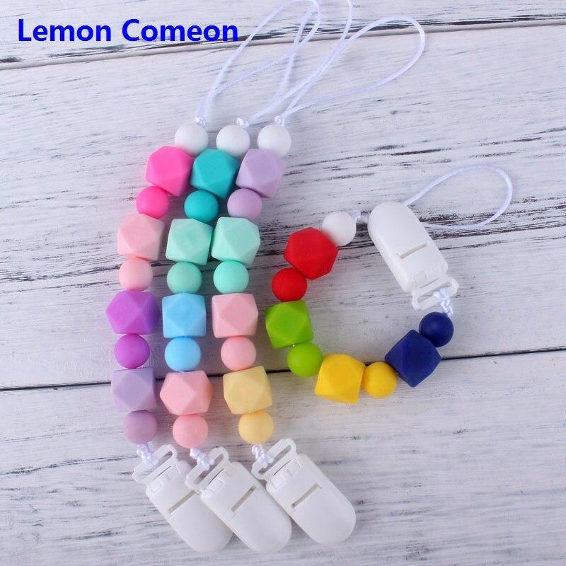 Красочные детские силиконовые соски-пустышки вы можете поранить Soothie новорожденных жевать для малышей игрушки для мальчиков и девочек держ...