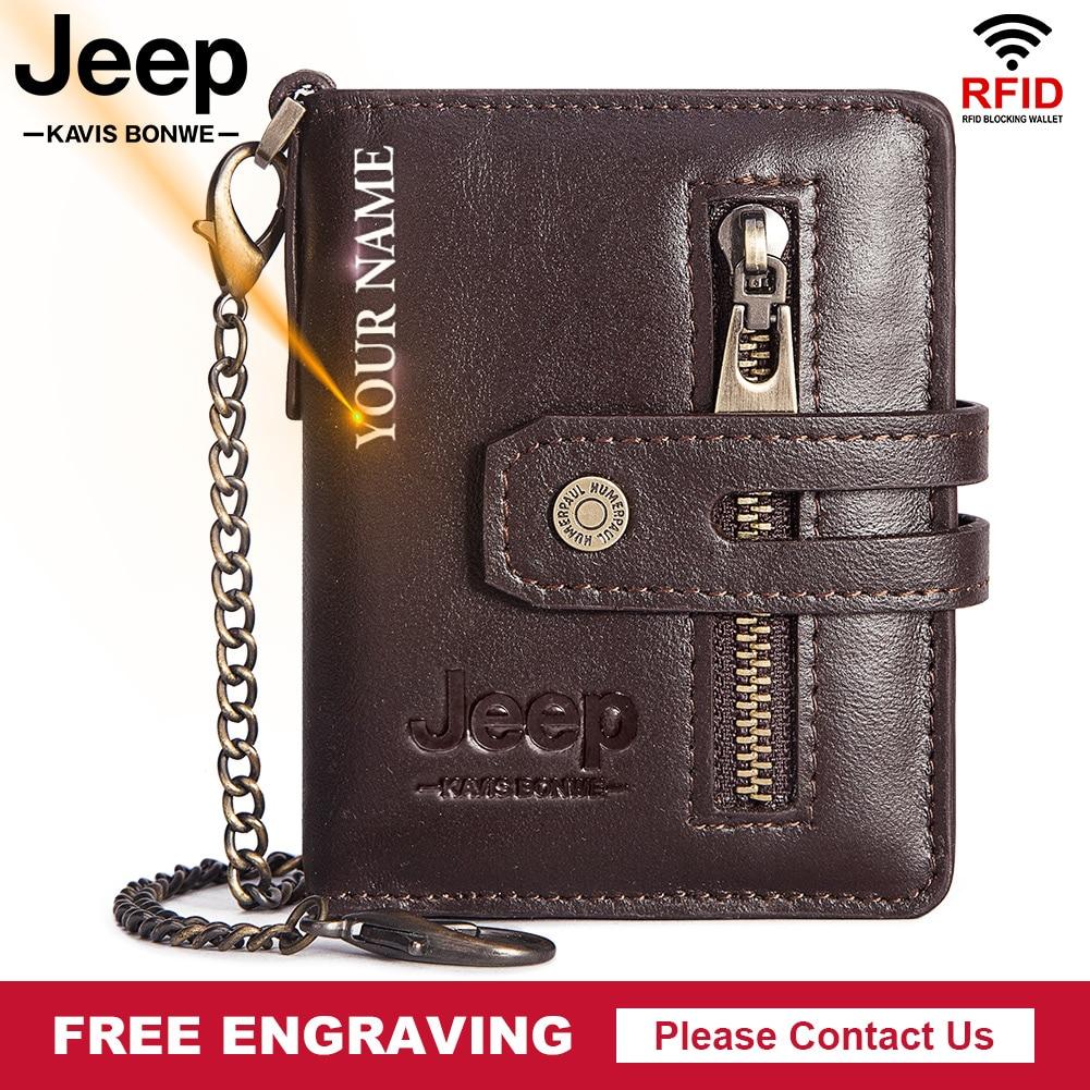 Кожаный кошелек Crazy Horse для кредитных карт, металлический бумажник с функцией RFID без сканирования, мужской деловой телефон