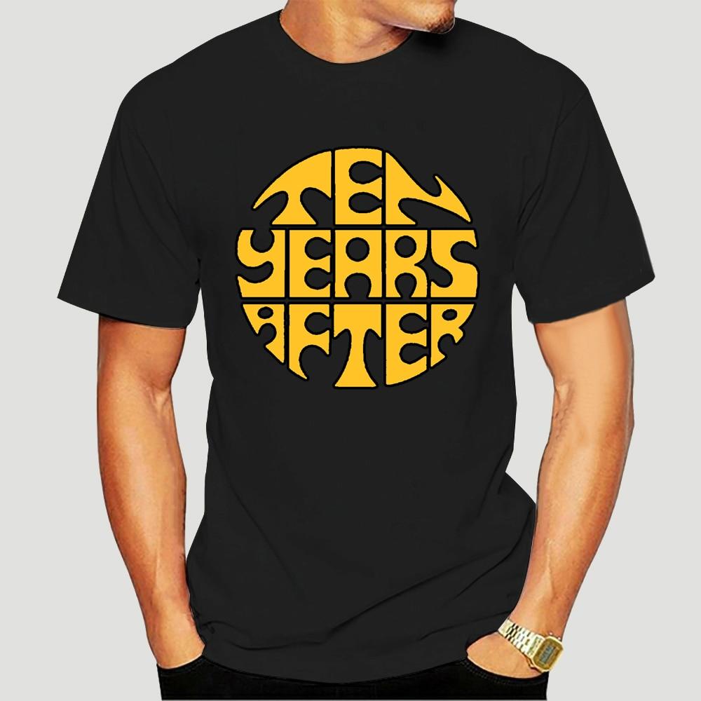 Camiseta negra de la banda del Rock inglés para hombre de talla...