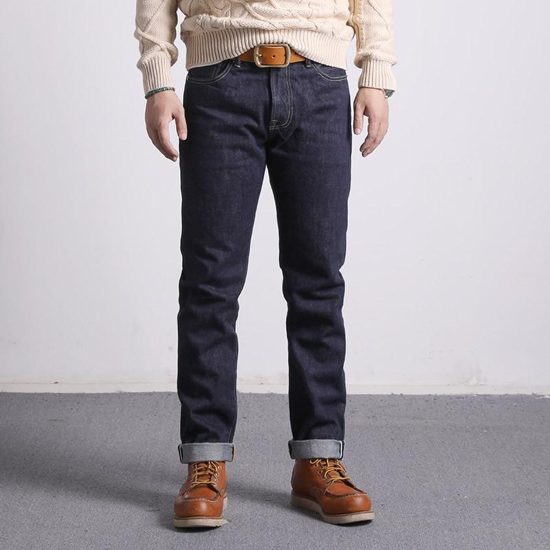 511XX-0009 Read Description! RedTornado Raw Denim Jeans 16oz Heavy Weight Indigo Selvage One Washed Sanforized Zipper Pants