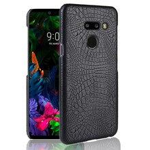 Etui z klapką etui na LG G8 ThinQ przypadku LG G8ThinQ przypadku 6.1 luksusowe tylna obudowa z ekologicznej skóry telefon etui na LG G8 ThinQ G 8 G8ThinQ LM-G820N