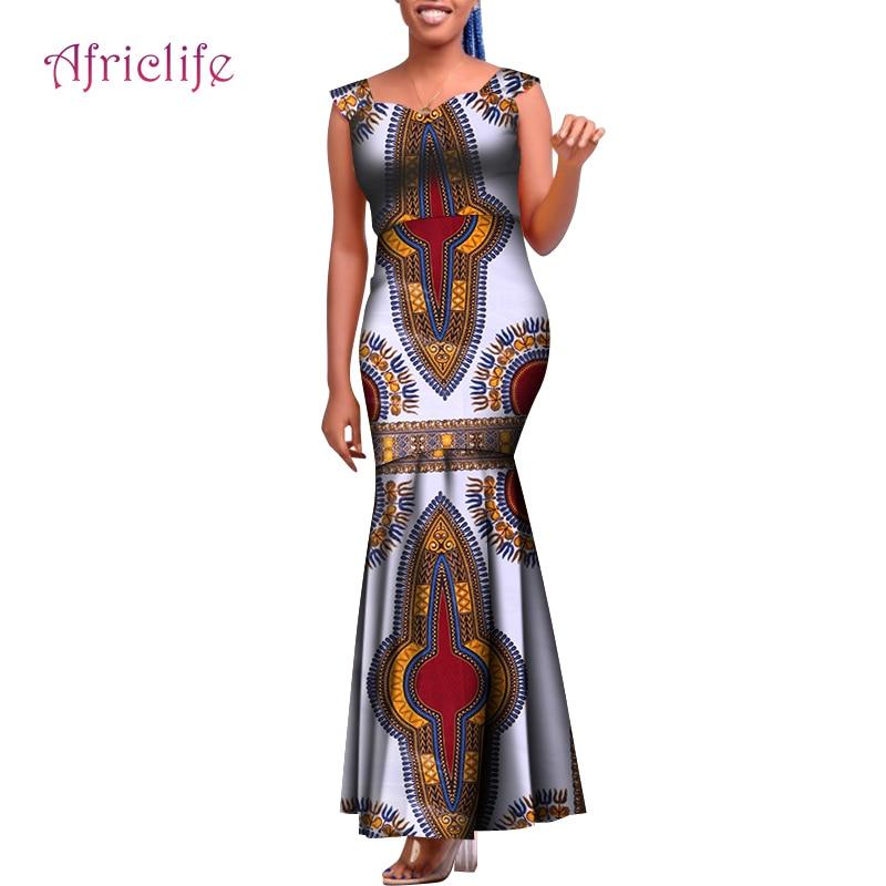 Африканское платье на заказ WY8334