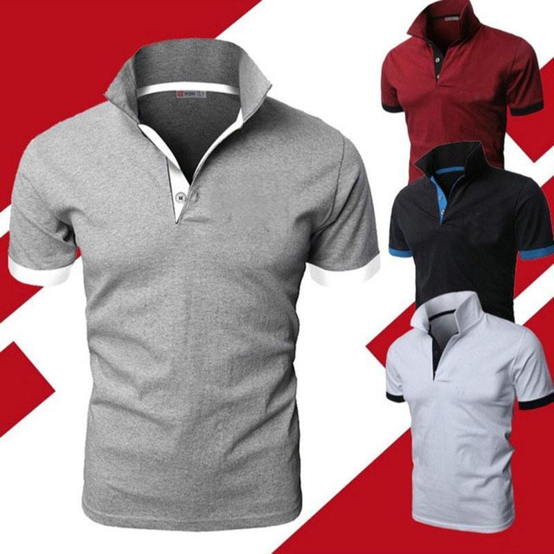 Camiseta informal de Manga Larga Para Hombre, camisa de Color Sólido, Marca...