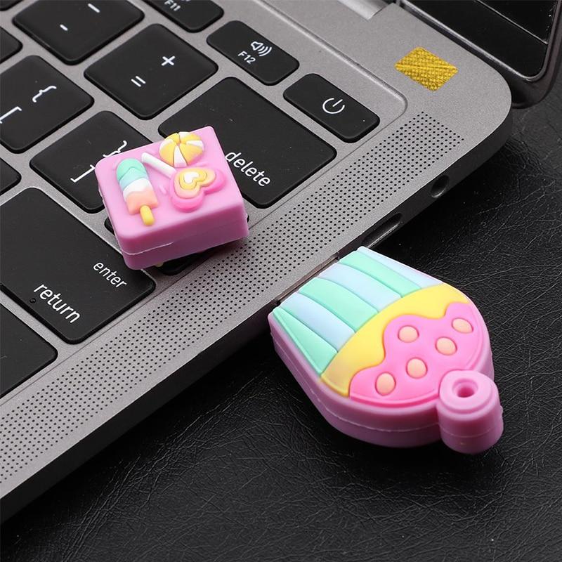 Usb flash cartoon pendrive 128GB 64GB 32GB 16GB 8GB memory stick cute gift pen drive High speed original usb flash drive