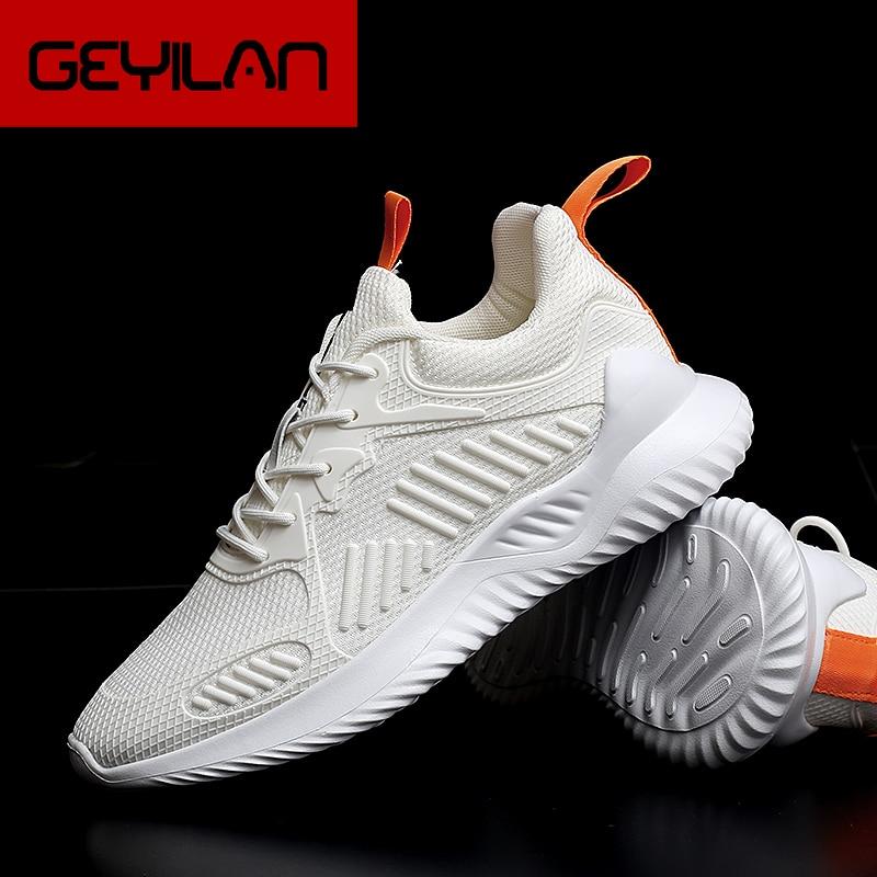 Zapatos informales blancos de verano para Hombre, zapatillas de deporte de malla...