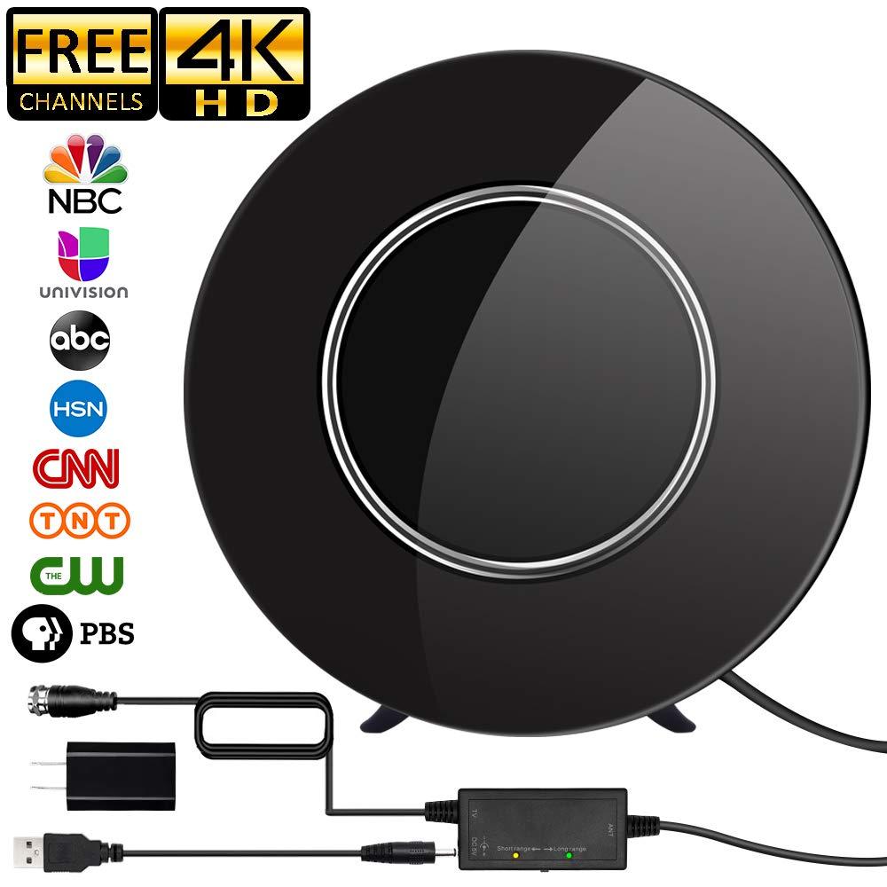 Antena de DVB-T2 150 millas de ganancia de rango HD TV Antena Digital amplificada 4K 1080P amplificador de señal UHF DVBT tdt TV receptor